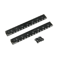 RAIL G-36 LARGO LATERAL METAL NEGRO