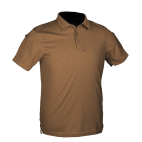 POLO TACTICO MILTEC M/CORTA TAN