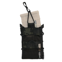 FUNDA CARGADOR SIMPLE ESTILO TACO EMERSON  MULTICAM BLACK
