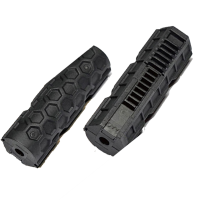 PISTON ACTION ARMY MITAD DIENTES METALICOS NEGRO
